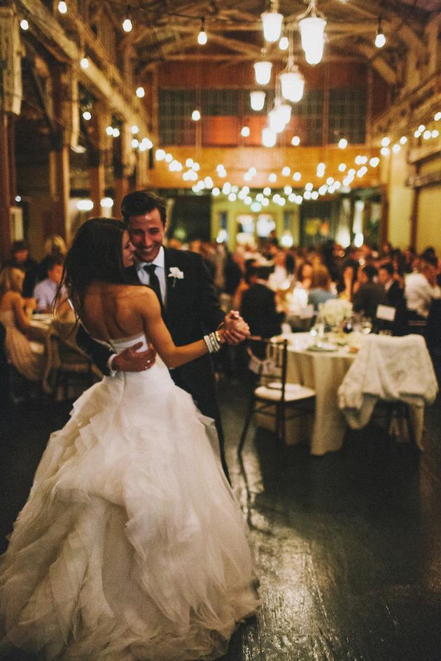 4. Ambient Music: Choose personal, un-cliched songs, with a dreamy feel for your ceremony, cocktail hour, over dinner, and for your first dance. You can even include some slow sets throughout the evening for the couples!