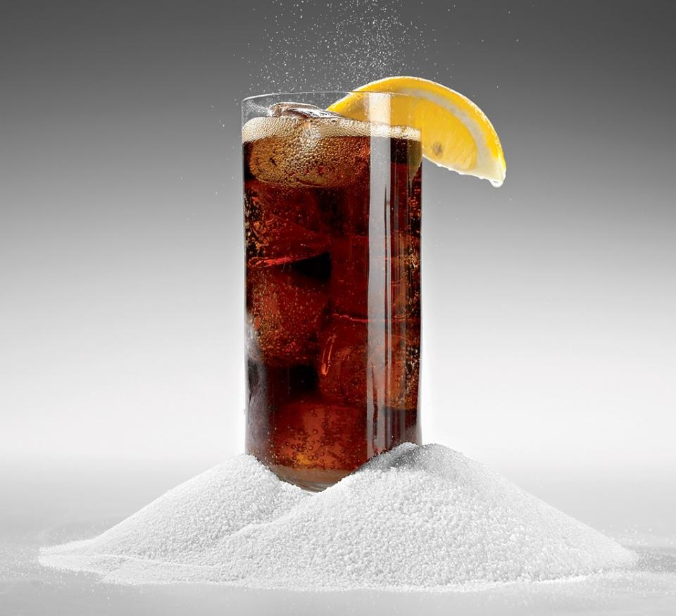 Healthy Habit #1: Ditch Diet Soda  people who drank two or more diet sodas a day had waist-size increases that were six times greater than non-drinkers. Diet drinks are loaded with deceptively sweet artificial sweeteners, which, researchers say, trick the metabolism into thinking sugar is on its way