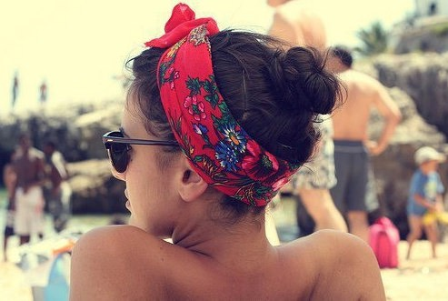 Keep hair and sweat away from you face with these headbands. You can try various hairstyles.