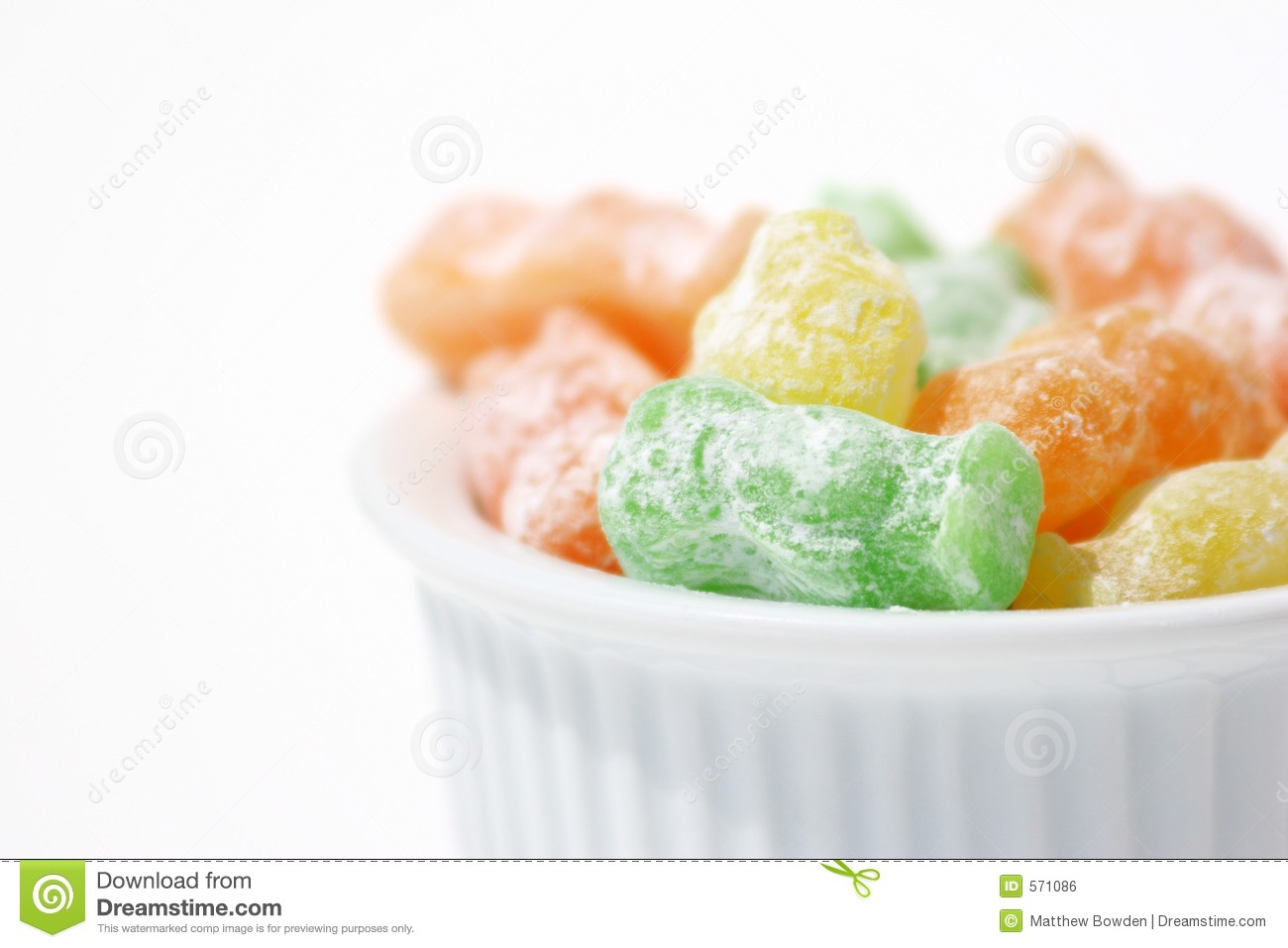 Put jelly babies in a large bowl (bowl big enough to hold a large amount of liquid as well as the jelly babies)