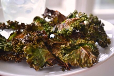 Kale Chips  Sub in kale chips for potato chips and eliminate mindless snacking guilt!