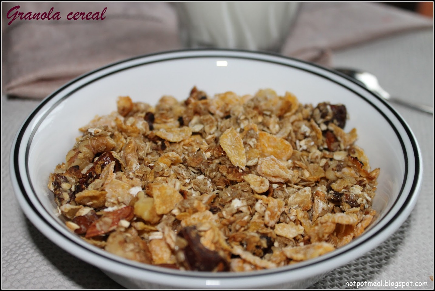 2. Granola: The cereal itself is actually fattening. That's because granola cereals contain oils, including high in saturated fat coconut oil, sugar, nuts and other high calorie foods. One cup of granola can contain as much as 25 grams of sugar alone! Granola is not all bad, but limit your intake.