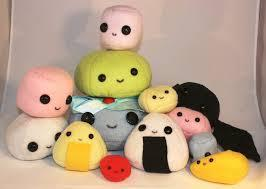 Plushies are also a great gift idea because even guys like them. And they're so soft and cute and cuddly.