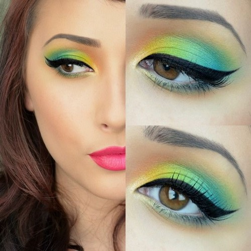 8. Wear eye-catching makeup.