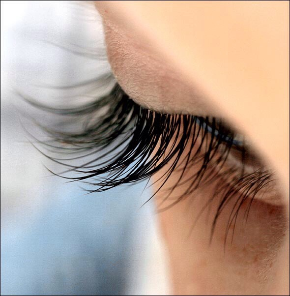 Take a clear mascara brush and tip it in Vaseline. Apply is to your top and bottom lashes before you go to bed and wash off with cold water in the morning.