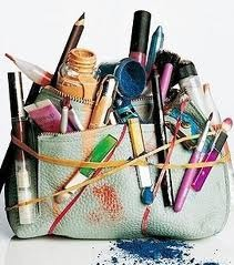Learn how to Take your cluttered up makeup and organize them