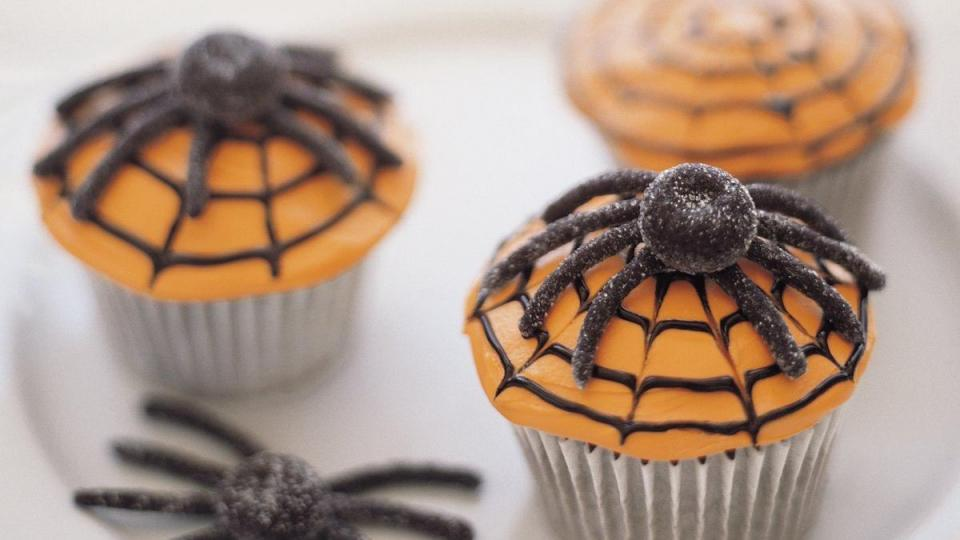Throwing a ghoulish Halloween party? Be sure to prepare loads of these rich and chocolatey Spiderweb Cupcakes for your crowd of hungry goblins.