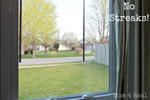 39. Use newspaper to get streak-free windows.