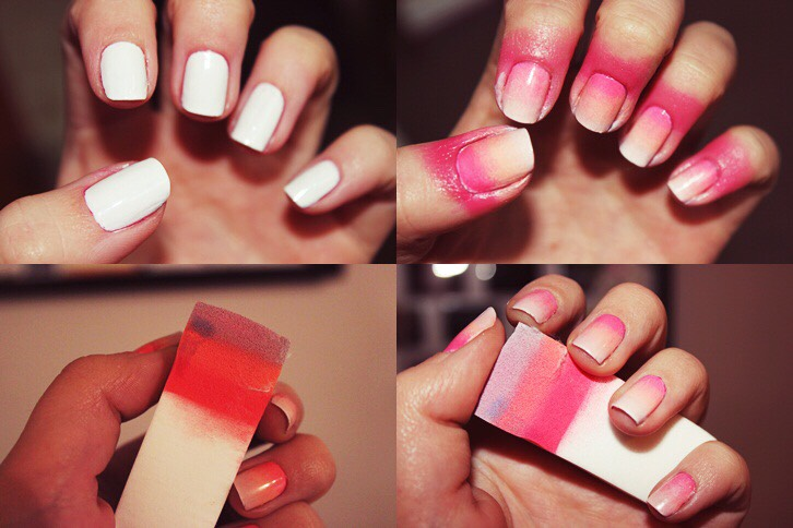 Why spend all this time to Ombre your nails.....