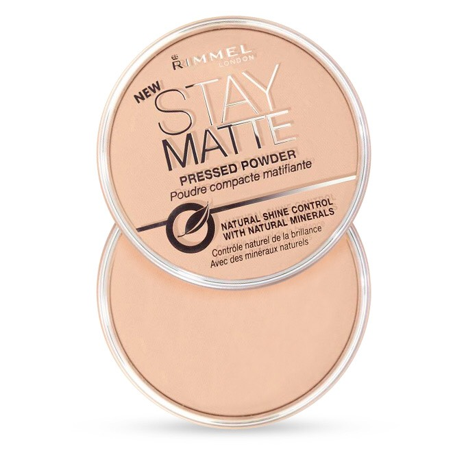 Rimmel Stay Matte Pressed Powder-Love love love! Goes on smoothly and has an amazing matte finish