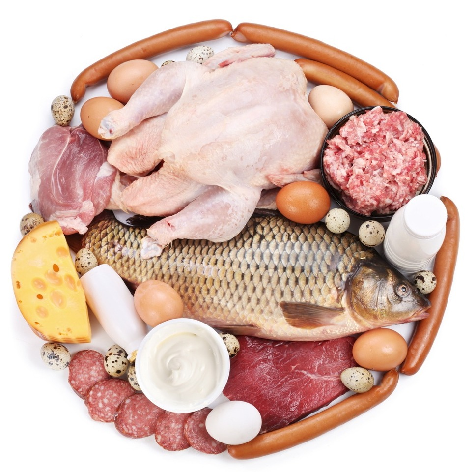 Eat protein: it's easier to lose weight from protein than any other food group.