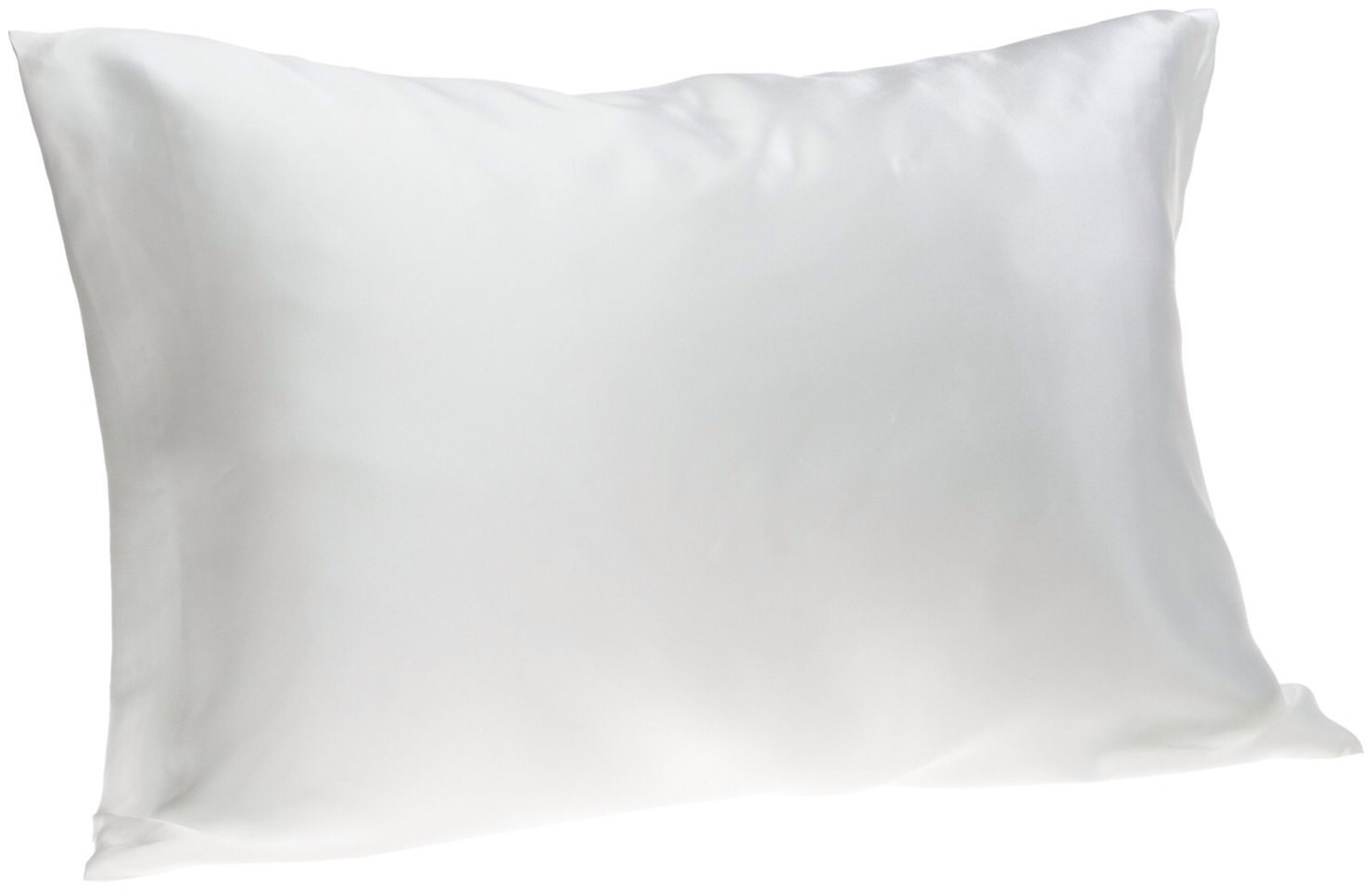 Sleep on a silk or satin pillowcase. Using fleece pillowcases posses the same results as towel drying, it takes out the natural shine and makes hair frizzy.