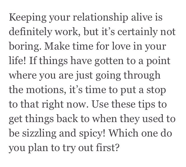how to keep relationship alive girlschase