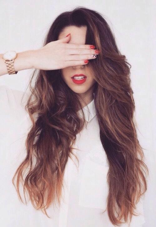 Hair goals😘