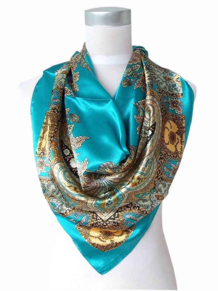Tip #2: Put a silk scarf across your pillow while you're sleeping so your hair won't knot (silk is really slippery - too slippery for knots to form!)