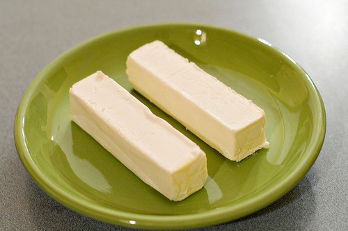 Ingredients for cookie:  2 sticks of unsalted butter at room temperature