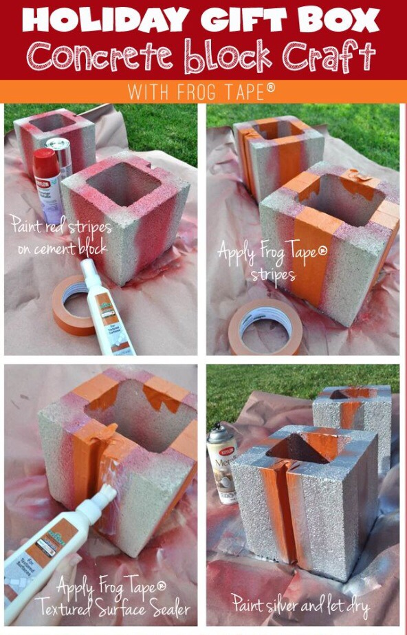 CONCRETE BLOCK CRAFT!