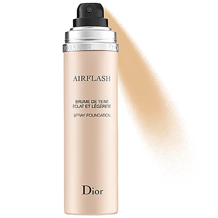 Next, I want to say something about this air flash dior spray, it is truely amazing! It makes your face matte all day, if you have very oily skin, use this! It's a spray powder, it stays the whole day. it's more on the pricey side though, about $60-$80 a bottle! But it is amazing and lasts forever!