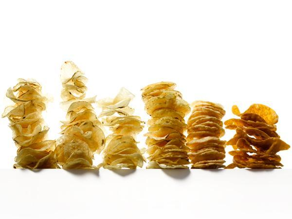2. Drop the potato chips  At the top of the list for foods that make you add pounds? Potato chips.