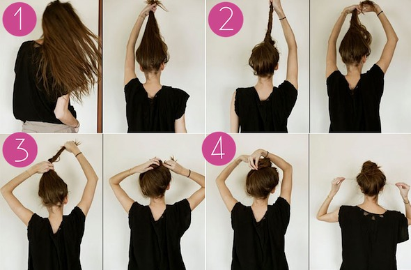 How to do the bun (double tap)