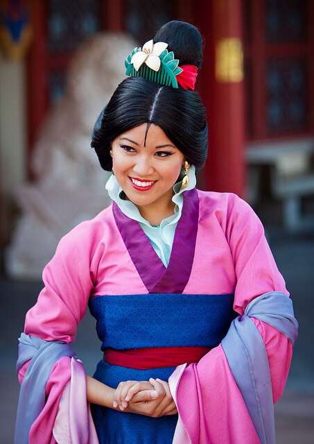Mulan Located in China in the World Showcase.