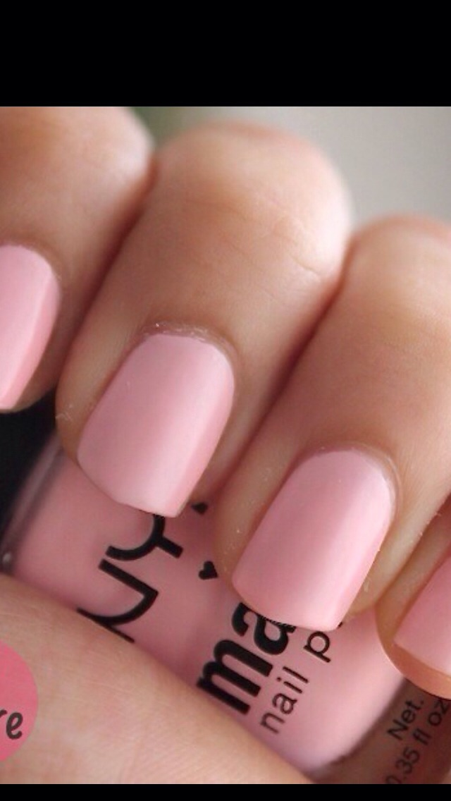 Finally you have your matte nails!
