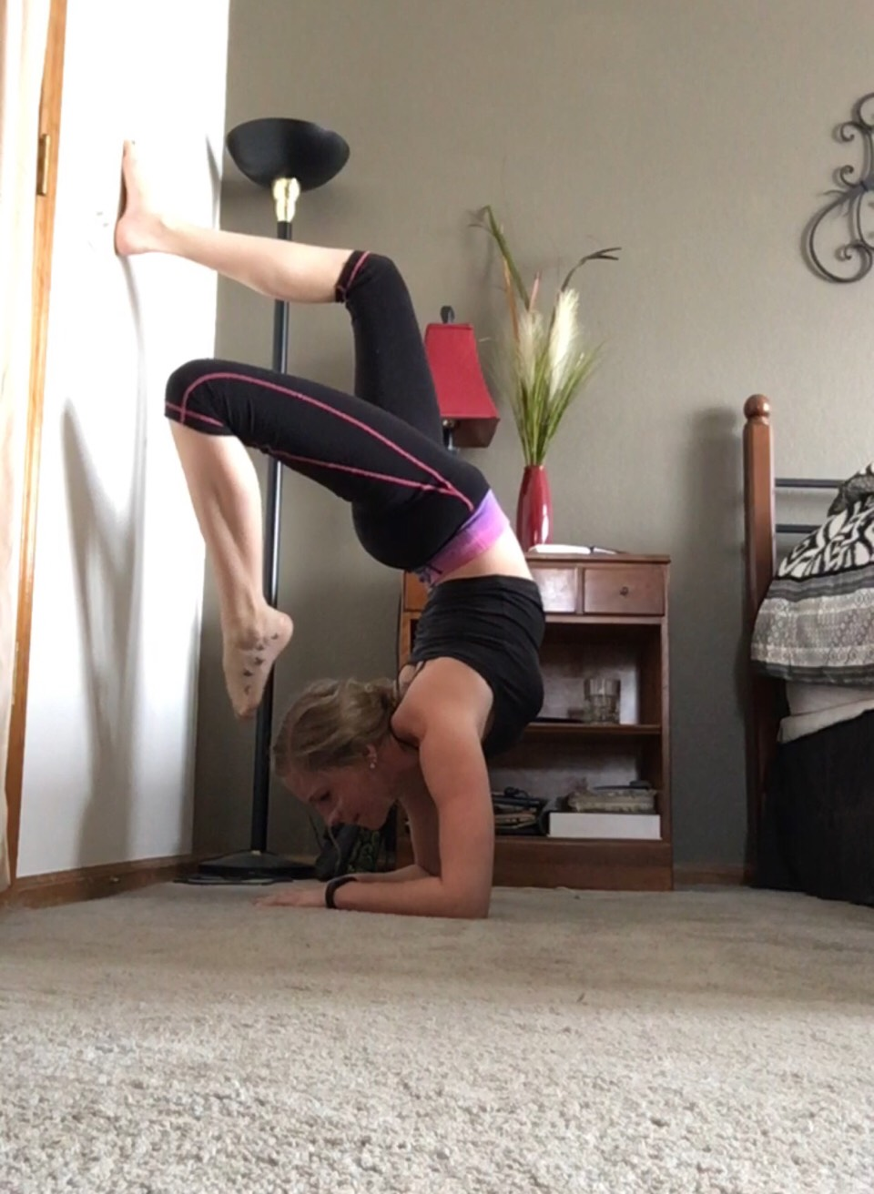 Yoga poses to balance, flexablitiy and weightloss❤️