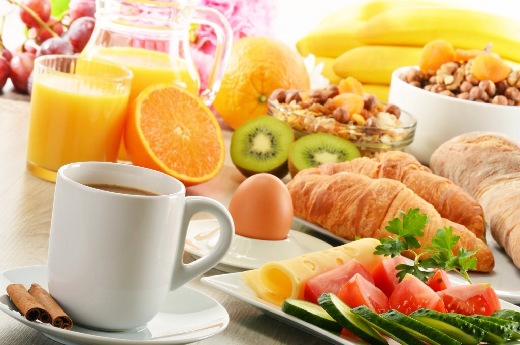 Make sure to eat a good breakfast so you will have energy thought out the day