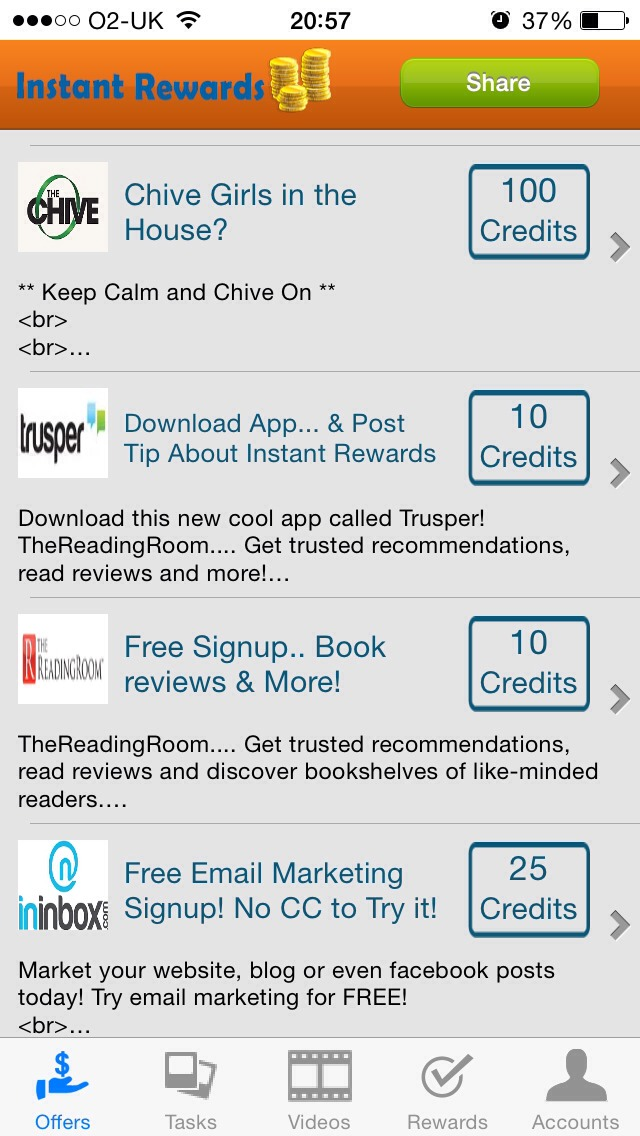 Download app and sign up to instant rewards to earn money on your phone! Simple as that.