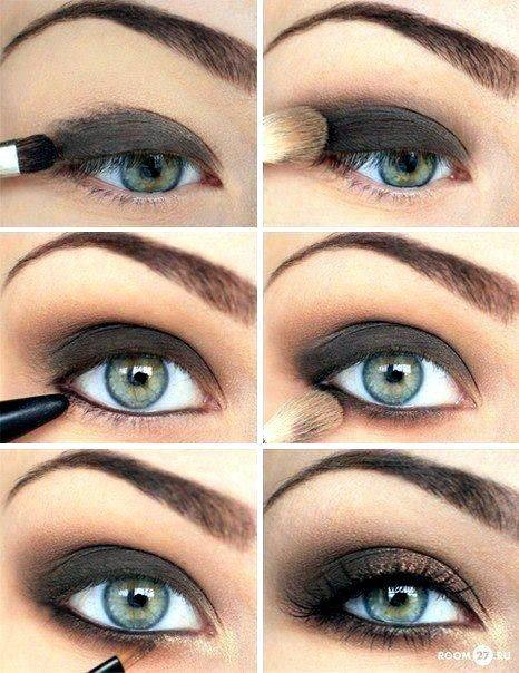 Want a nice smokey eye?➡️➡️