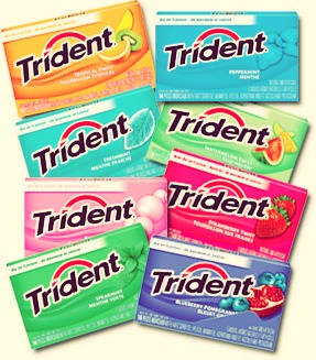 Gum/ breath mints are useful after lunch for a quick freshen up. Use gum during tests or lectures to keep you focused. When allergy season hits, use mint gum to help clear your sinuses and open your air way.
