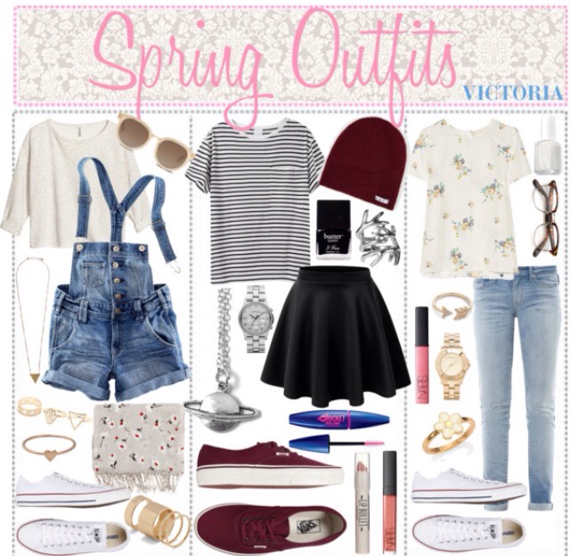 Enjoy these hipster outfits ideas for spring!😋🌸🌿
