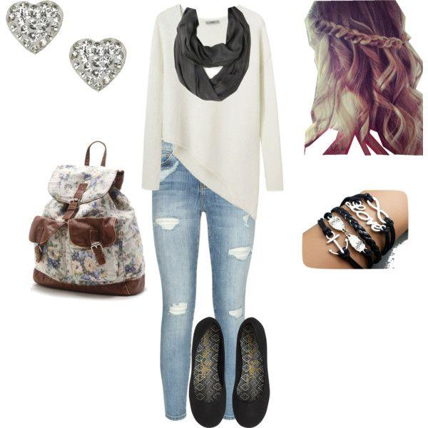 love this outfit from Polyvore
