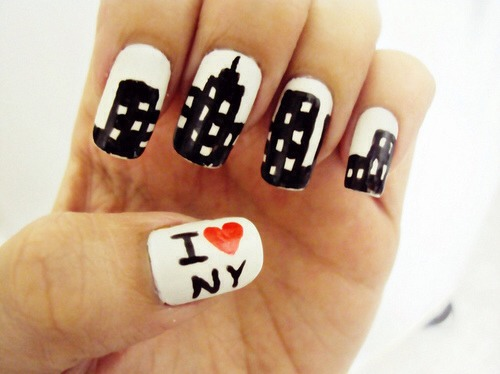 "I love big cities! If you live in one, you could change ""I <3 NY"" to whatever your city is."