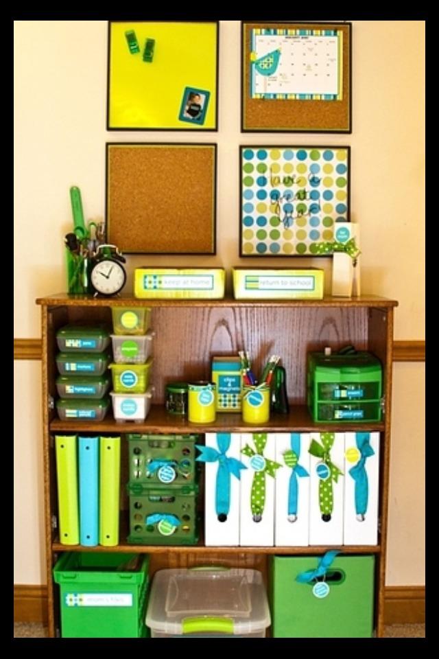 Good way yo organize a lot of things