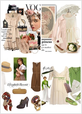Take this chance to dress like a classic character from one of Jane Austen's novels