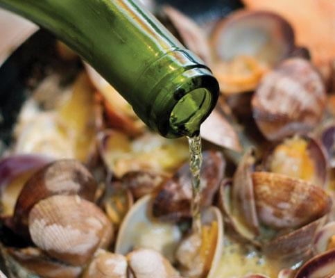 9. Steam Clams or Mussels  Fill a large steamer pot with equal parts water and beer, then bring to a boil. Steam the randy little mollusks until their shells open. Couldn't be simpler. The beer imparts a nice flavor.
