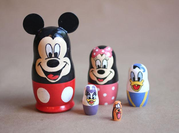 30. Or DIY these nesting dolls.