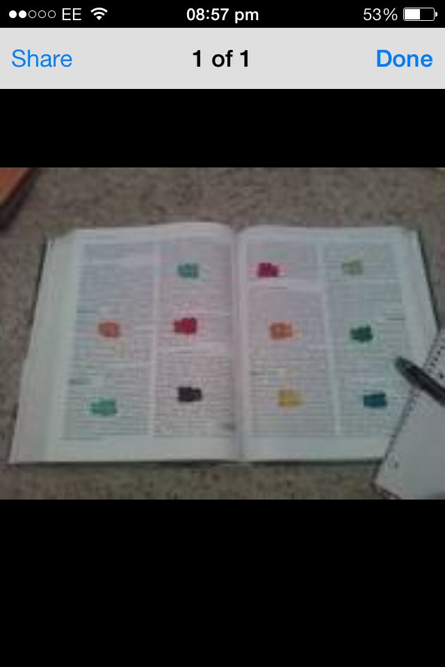 Place gummy bears all over your revision book and when you reach a bear you get to eat it!