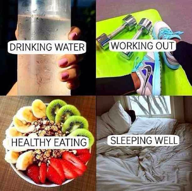 You have to have all four to see the results. Don't slack!