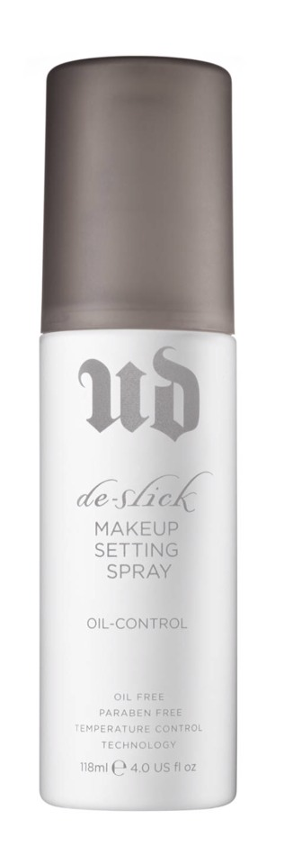 Last but not least a setting spray to hold all your makeup in place I would recommend the urban decay de-slick setting spray 💕 which is also oil controlling 💕