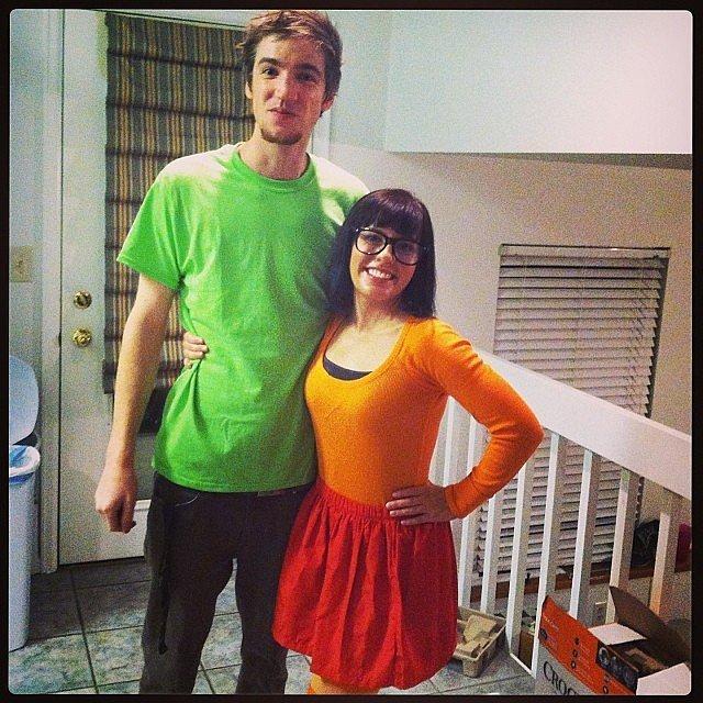 Velma and Shaggy From Scooby-Doo