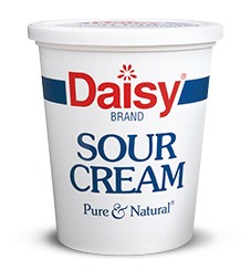- about 1 tablespoon sour cream 🍶🍶🍶🍶🍶🍶🍶🍶🍶🍶