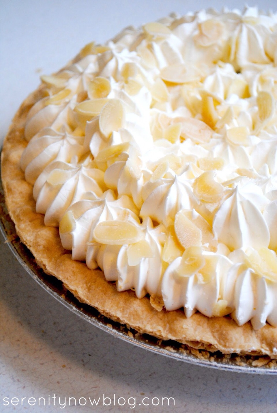 This quick recipe is chock-full of fruits that make this banana split pie naturally sweet. Whip up this simple dessert if you're pressed for time and enjoy.