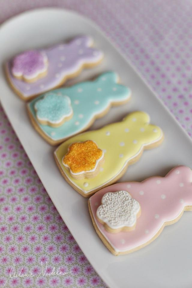 Bunny cookies the kids could make and frost
