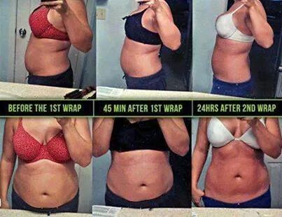 These are not water loss wraps! In fact you have to drink half your body weight in ounces of water to get maximum results!! call/text 270.997.2284 or order here www.sargentsayswrap.com