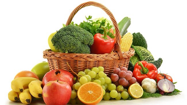 Eat fresh vegetables and fruits., especially carrots. Try not to eat meat as often.