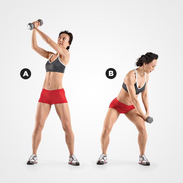 MOVE 4Dumbbell Chop