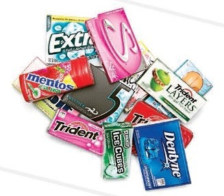 2. When you feel the need to eat but you are not hungry, chew sugar free gum!
