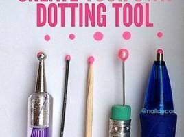 32. Want to create cool nail art but don't have the tools? Totally cool.